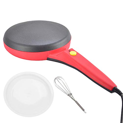 Buy Electric Crepe Maker,Portable Crepe Maker Electric Griddle Non-stick Crepe Pan, Automatic Temper...