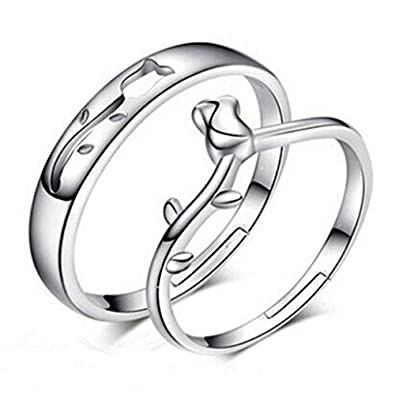 e0859a02a7d 19 Likes Silver Metal Rings for Men and Women