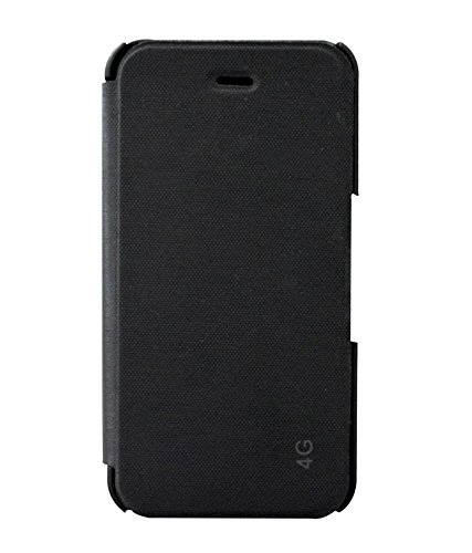 abb2e73771b6 COVERNEW Flip Cover for Apple iPhone 4s - Black  Amazon.in  Electronics