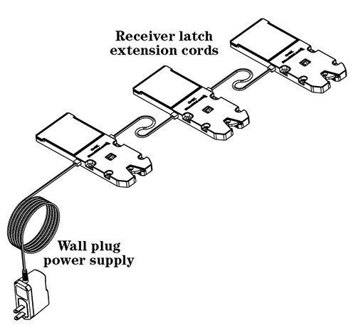 CompX StealthLock Hardwire Accessories, Power Supply 10 Foot