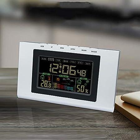 Despertador Digital, Reloj de Mesa, Pantalla LCD con Grandes números, función de repetición, retroiluminación de luz Inteligente automática y Regulable, ...
