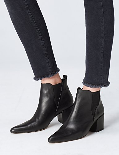Women's Black FIND Dewie Black Chelsea Boots pw1qxFd7qT