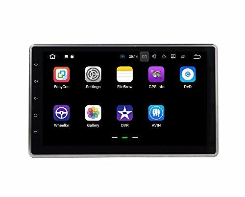 BoCID 2GB RAM Quad Core 10.1'' Android 7.1 Universal Car dvd player gps navigation With Car Radio Bluetooth WIFI 16GB ROM TV USB DVR by BoCID (Image #1)