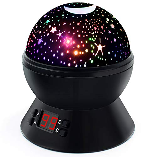 Night Lights for Kids and Babies, Multicolor Star Projector with Timer for Bedtime, Best Gifts for Boys and Girls