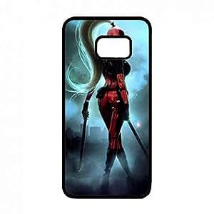Protection Phone Skin Cover Case for Deadpool DC Comic Samsung Galaxy S6 Edge Plus Caja del teléfono celular Funda