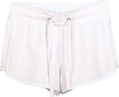 beautyjourney Shorts de algodón para Mujer Pantalones Cortos ...