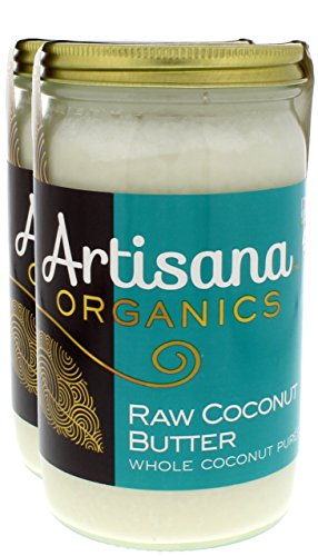 Artisana Organics - Coconut Butter, Single Ingredient Handmade Rich and Thick Spread, USDA Organic Certified and Non-GMO (2-Pack, 14 oz)