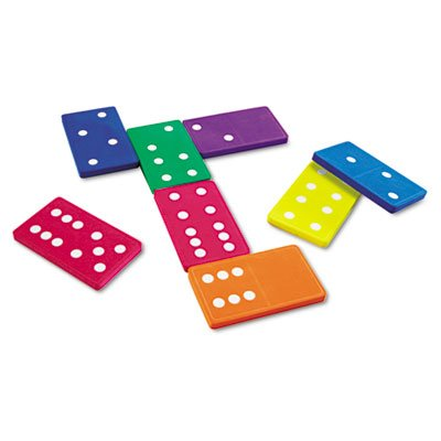 Jumbo Dominoes, for Grades K and Up, Sold as 1 Set