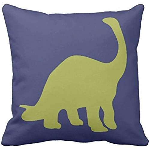 Amazon.com: Rawr means I love you en dinosaurio almohada ...