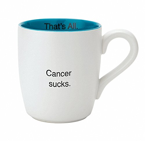 Santa Barbara Design Studio - That's All Mug - Cancer (Cancer Sucks Mug)