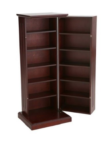 this tall media cabinet with doors and shelves is great. Black Bedroom Furniture Sets. Home Design Ideas