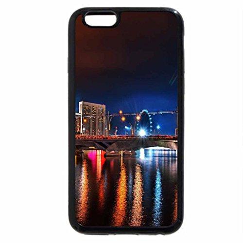 iPhone 6S / iPhone 6 Case (Black) Summer night city