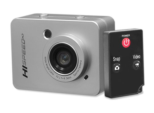 Pyle PSCHD60SL Hi-Speed HD 1080P Hi-Res Digital Camera/Camcorder with Full HD Video, 12.0 Mega Pixel Camera & 2.4-Inch Touch Screen LCD Display (Silver)
