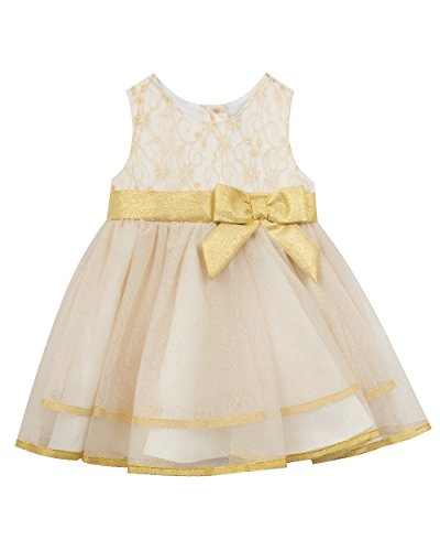 Rare Editions Little Girls' Toddler Ballerina Dress, Ivor...