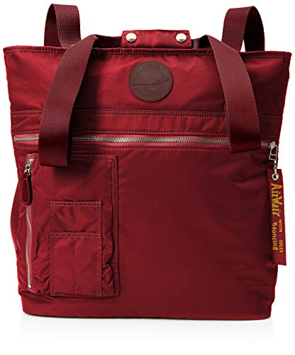 Dr. Martens Unisex-Adult Flight Tote Canvas and Beach Tote Bag Red (Rose Red)