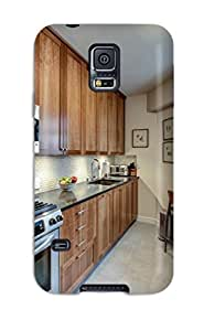 Pretty EQgyJjU16641RBCbM Galaxy S5 Case Cover/ New York Kitchen Makes Most Of Space Series High Quality Case