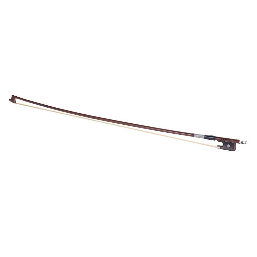 ammoon Pleine Dimension 4/4 Violon Fiddle Bow Well Balanced Brazilwood Round Bâton Crins exquis BHBUKPPAZINH1914