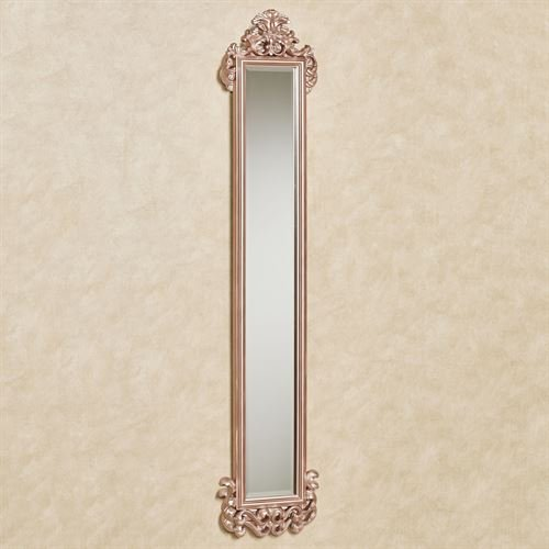 Touch of Class Carolina Scroll Wall Mirror Panel Rose Gold