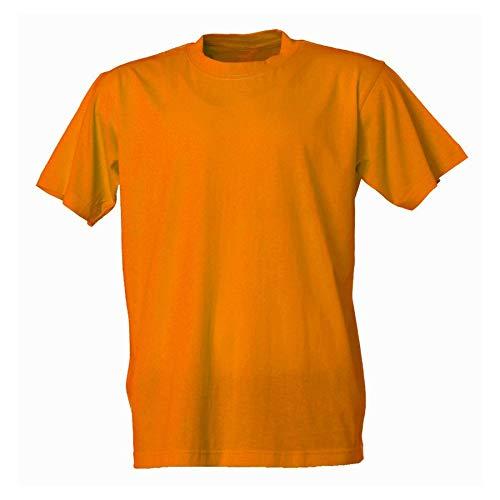 Valento Basic Cuello Redondo, Camiseta, Naranja, Talla S: Amazon.es: Deportes y aire libre