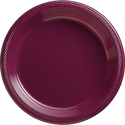 Big Party Pack Berry Plastic Plates | 10.25