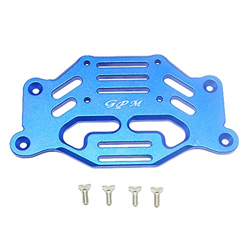 Binory Upgrade Parts Aluminum Front Mudguard Stabilizing Plate for TRAXXAS TRX4 RC Car(Blue)