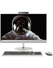 Lenovo ideacentre 520-27ICB All in One, Display 27 QHD Non-Touch, Processore Intel I5-8400T, RAM 8 GB, Storage 1 TB HDD, Grafica Condivisa, Windows 10, Silver, F0DE003QIX