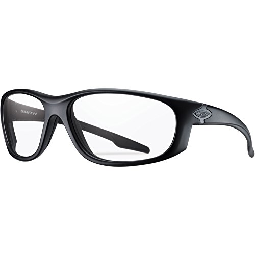 Smith Optics Chamber Tactical Sunglasses with Black Frame (Clear ()