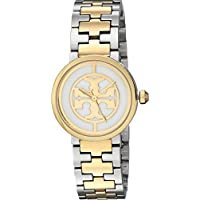 Tory Burch Women's Reva - TBW4016 Two-Tone Silver/Gold One Size