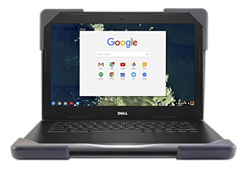 Devicewear Book Cover 11 Dell 3180 Chromebook Case Rugged Protection, Shock Absorbing Cover, Tough Silicone Corners.