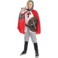 Disfraz Caballero Cruzadas Niño Carnaval Históricos (Talla 3-4 años) (+ Tallas)