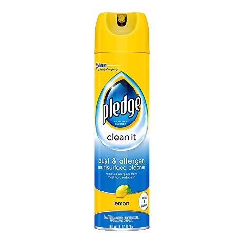 (Pledge Dust & Allergen Furniture Spray, Outdoor Fresh 9.70 oz  )
