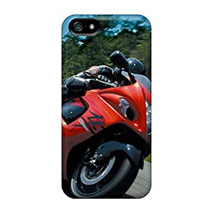 Hot Style RhS961bZIW Protective Cases Covers For Iphone5/5s(suzuki Hayabusa)