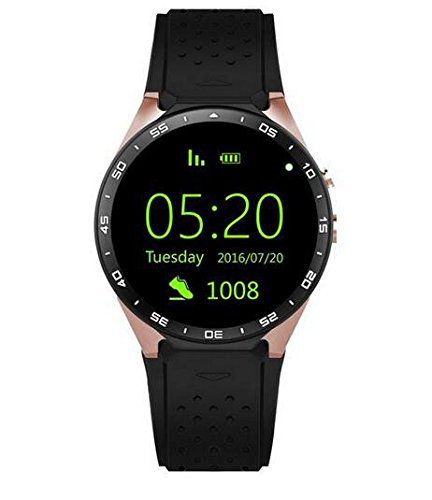 kingwear kw88 pantalla AMOLED Android 5.1 3 G Smartwatch ...