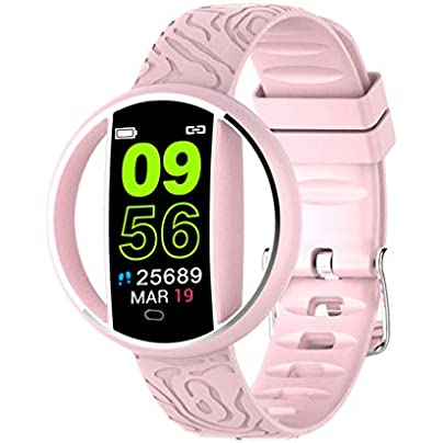 HFXLH Smart Bracelet Wristband Watch Heart Rate Tracker Blood Pressure Fitness Pedometer Waterproof Smart Wristband Smart Watch Estimated Price £69.98 -