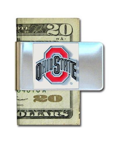 NCAA Ohio State Buckeyes Steel Money Clip (Ohio Basketballs State)