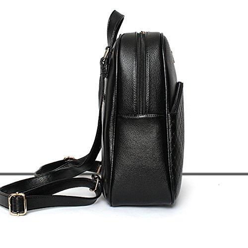 Diamant Black Femme à Multicolore En Sac Sac Pu En Adolescent Pour Bandoulière Cuir Bandoulière Universitaire à qdIwE6Z