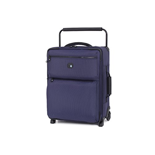 IT Luggage World's Lightest Los Angeles 21.5 inch Carry on, Two Tone Navy EU