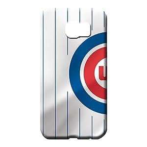 samsung galaxy s6 Nice Tpye colorful mobile phone carrying shells chicago cubs mlb baseball