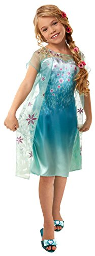Disney Frozen Fever Girls Elsa Dress