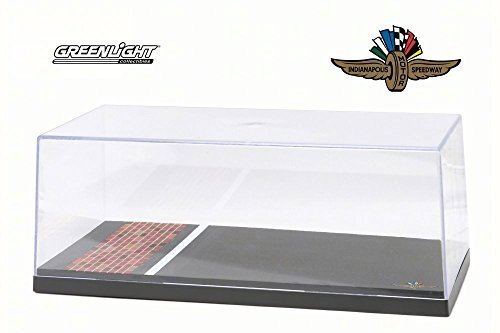 Acrylic Display Case for Replica Vehicles, Asphalt & Brick - Greenlight 55021 - 1/18 Scale Accessory for Diecast Cars Scale Diecast Acrylic Display