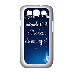 Cinderella Samsung Galaxy S3 9 Cell Phone Case White Customized Toy pxf005_9641542