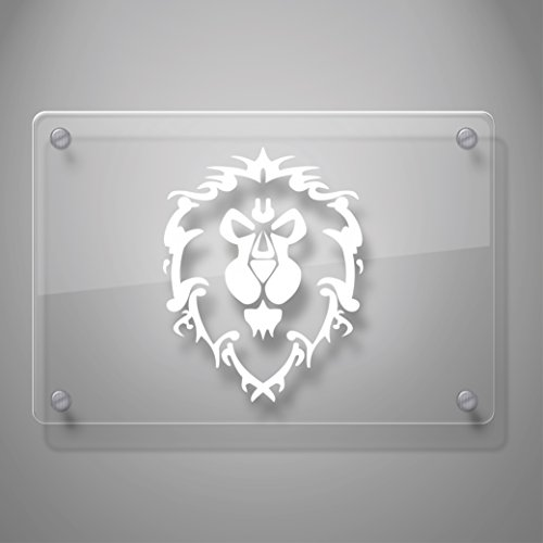 Yoonek Graphics World Of Warcraft Alliance Decal Sticker For Car