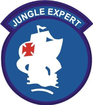 United States Army USARSO Jungle Expert Patch Decal Sticker 3.8