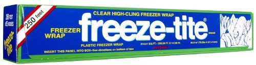 Freeze-Tite Premium Plastic Freezer Wrap-15 x 250 ft. by Freeze-Tite