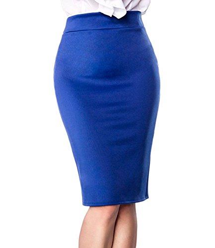 Belsira - Falda - para mujer Azul