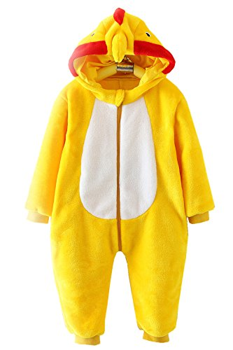 Unisex-baby Romper Outfits Suit Animal Fancy Dress Costume Chicken (Fancy Dress Chicken)