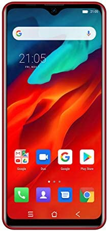 "Unlocked Smartphones Blackview A80 Pro - (2021) Android 10.0 4GB+64GB ROM, 6.5"" HD+ Waterdrop Screen,8MP Front Camera + 13MP Quad Rear Camera, 4680mAh Battery 4G Dual SIM Unlocked Smartphones(red) WeeklyReviewer"