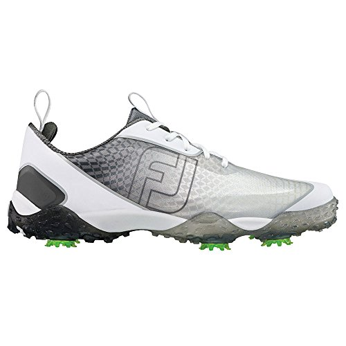 FootJoy Men's Freestyle 2.0 Golf Spike Charcoal/White Size 9.5 M US