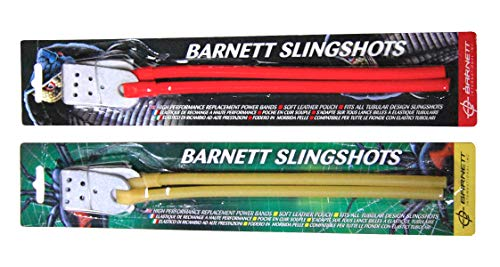- Barnett Natural Power Band Black Widow Cobra Diablo Strike 9 Catapult Slingshot Rubber Elastic Yellow