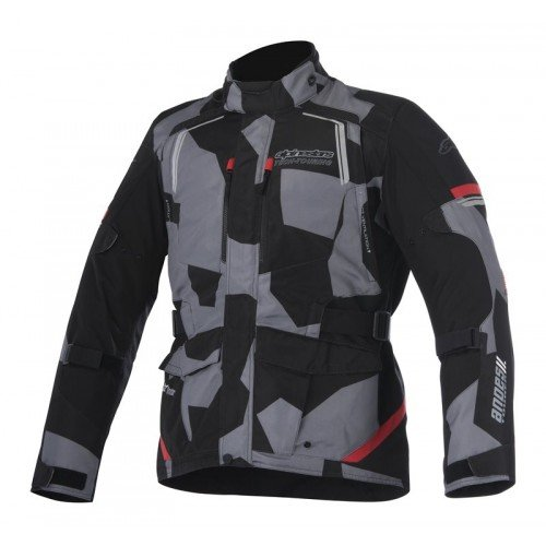 Alpinestars Andes v2 Drystar Jacket (X-LARGE) (BLACK/CAMO/RED)
